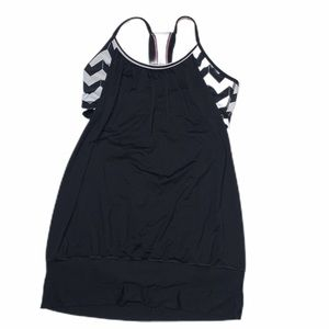 Lululemon No Limits Tank chevron